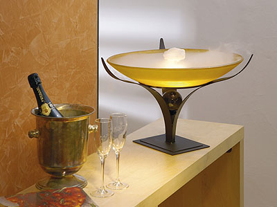 glasschalen glasschale brunnenschale zimmerbrunnenschale aus glas neblerschale. Black Bedroom Furniture Sets. Home Design Ideas